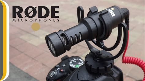 Rode VideoMicro Compact On-Camera Microphone Unboxing