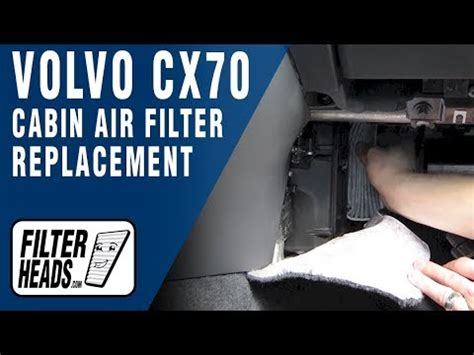 How to Replace Cabin Air Filter Volvo XC70 - YouTube