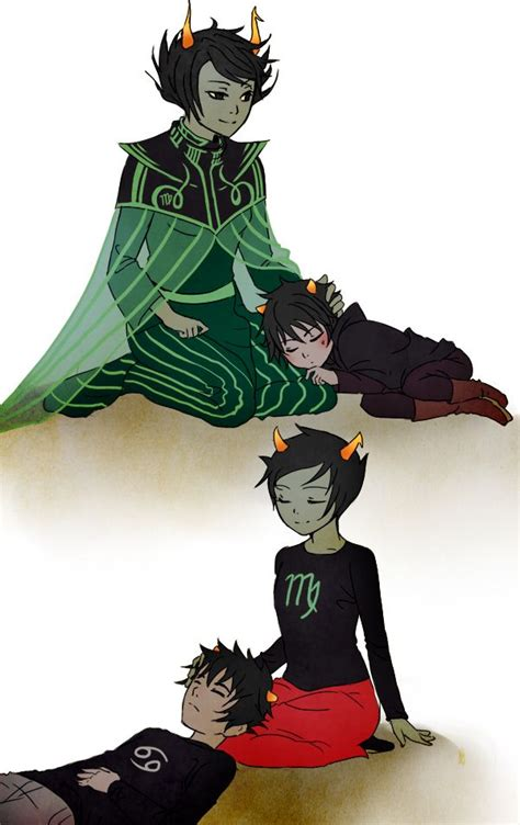 Homestuck Dolorosa and Signless, Kanaya and Karkat