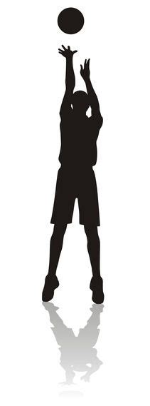 Basketball Player Silhouette Wall Decal Vinyl Wall Art 48