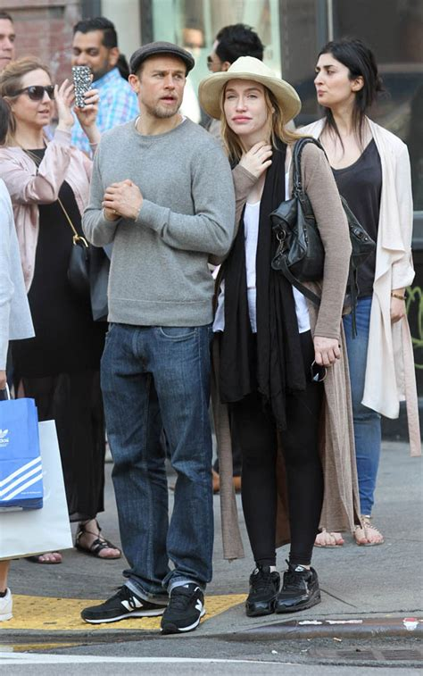 Charlie Hunnam in New York with girlfriend Morgana McNelis