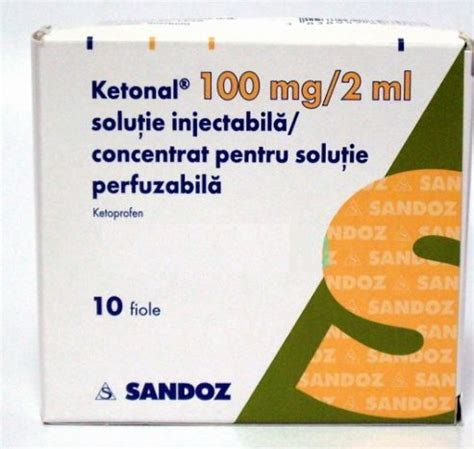 Medimfarm - KETONAL 100 MG/ 2 ML X 10