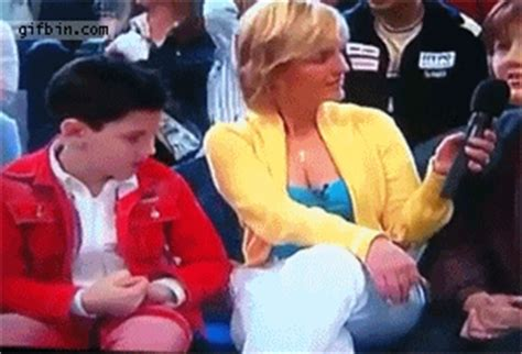 Kid Checks Out Woman's Cleavage | Best Funny Gifs Updated