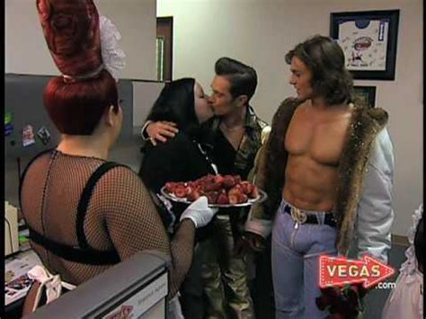 Las Vegas Celebrities from cast of Zumanity - YouTube